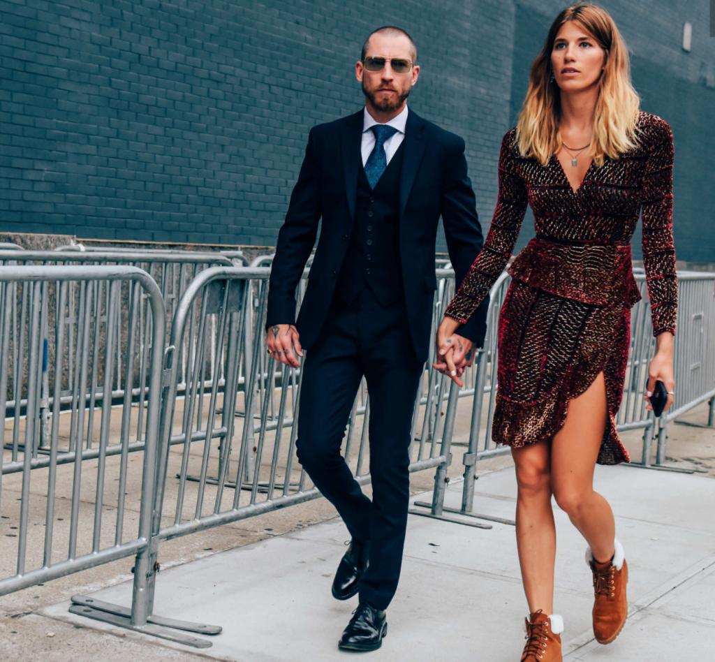 Veronika Heilbrunner, mode, tendance, fashionista, couple