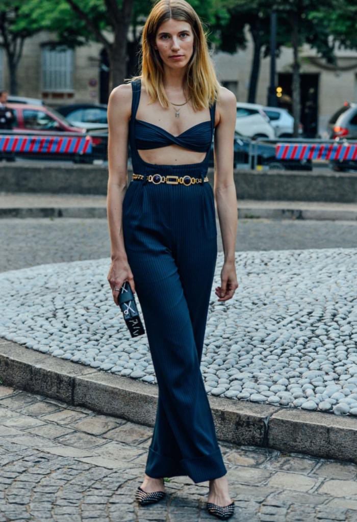 Veronika Heilbrunner, mode, tendance, streetstyle, dressup, robe, navy, éditrice