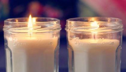 Des bougies d'automne