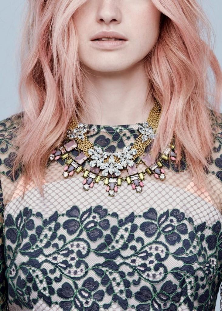 cheveux, pastels, tendance, coloration, automne