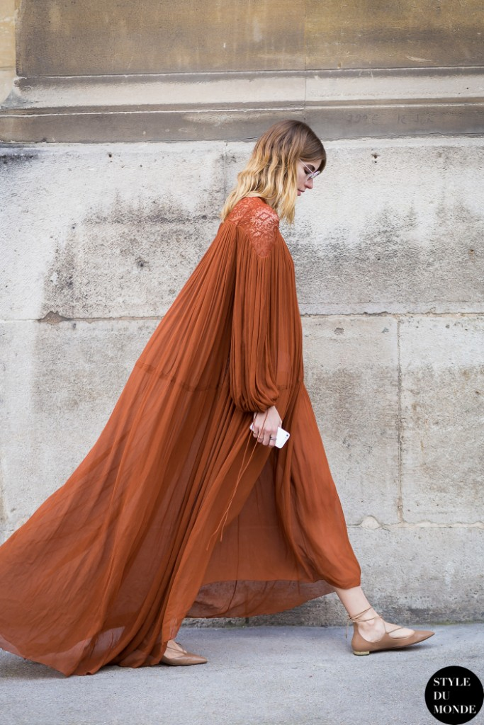 Veronika Heilbrunner, mode, maxidress, tendance, fashionista, street style, éditrice