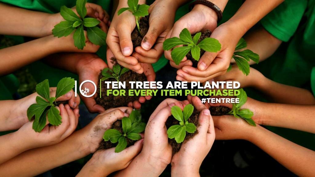 tentrees, cause, arbres, environnement, mode, tendance, écologique