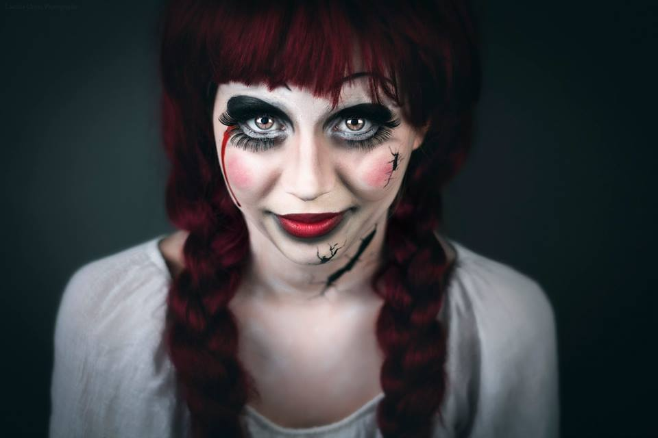 5 id es maquillages pour l 39 halloween le cahier - Pintura cara halloween ...