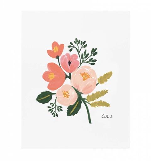 art, print, fleur, rifleandco, décoration, inspiration, affiche, murale