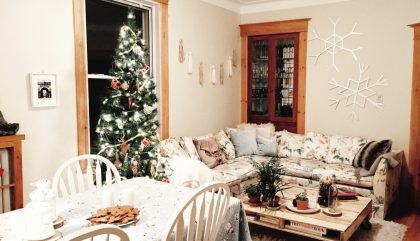 A magical living room for the Holidays