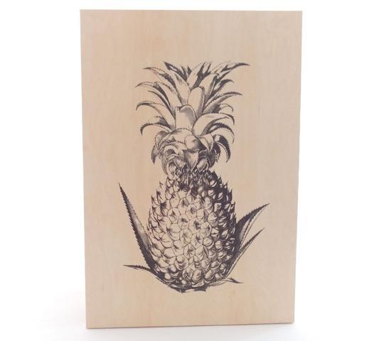 vdev, boutique, montréal, décoration, murale, ananas, inspiration