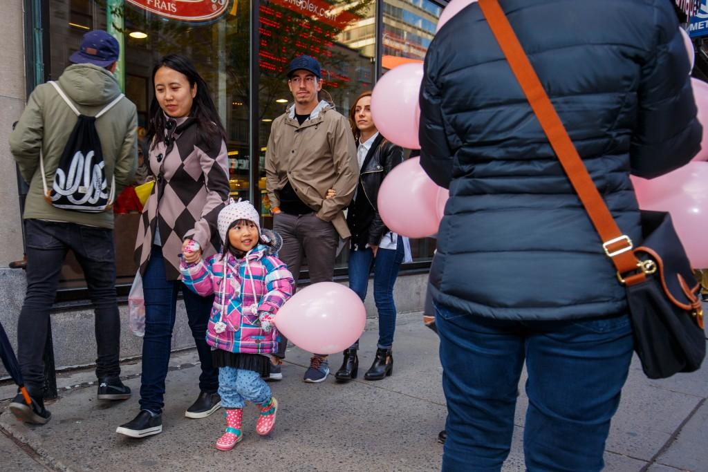 ballon, rose, fondation, cure, cancer, sensibilisation, soutien, famille, entourage