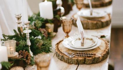 Art de la table pour les fêtes