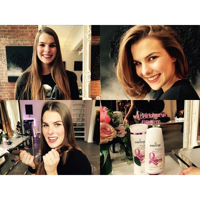 La belle longueur de Pantene, Pantene, projet, coupe, cheveux, don, cancer
