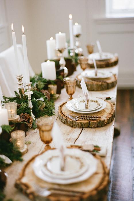table, décoration, fêtes, Noël, fêtes, vacances, festif, famille, amis, célébration
