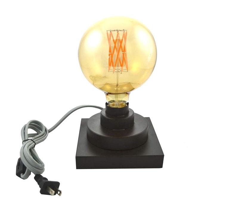 lampe de table, décoration, maison, chambre à coucher, ampoule