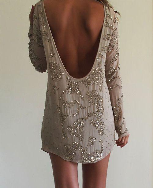 Robe, paillette, sensualité, féminin, blog, oser, jouer de l'an, article
