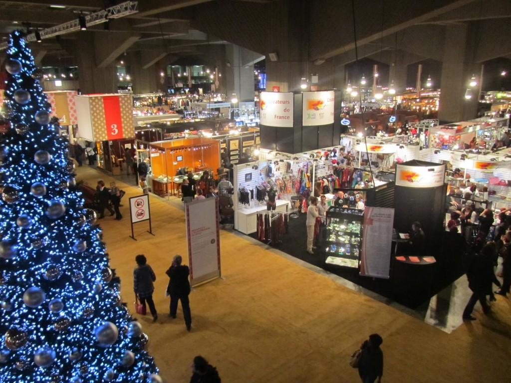 marché, Noël, ambiance, achat local, fêtes, neige, ambiance, festif