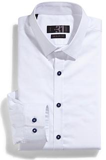 chemise, blanche, party, Noël, outfit, idées, réveillon, famille