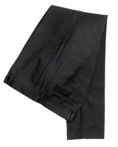 pantalons, chic, propre, noir, party, fêtes
