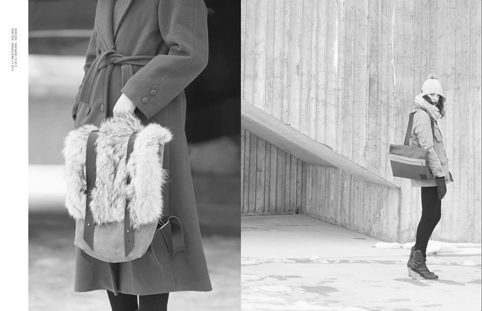 Rachel F, designer, hiver, accessoires, montréal, local, mode, fashion