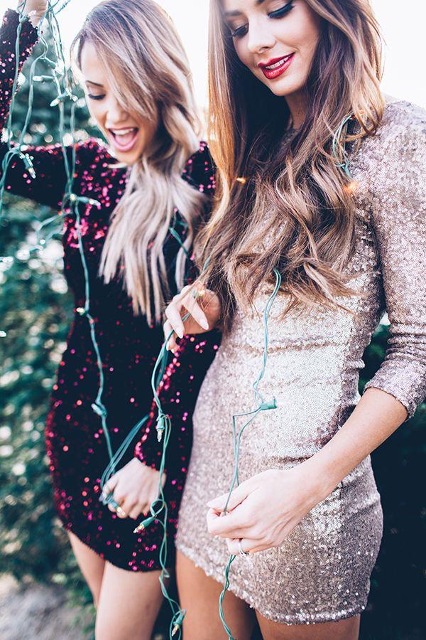 robes, brillantes, glitters, mode, montréal, jour de lan, oser ou pas, le cahier