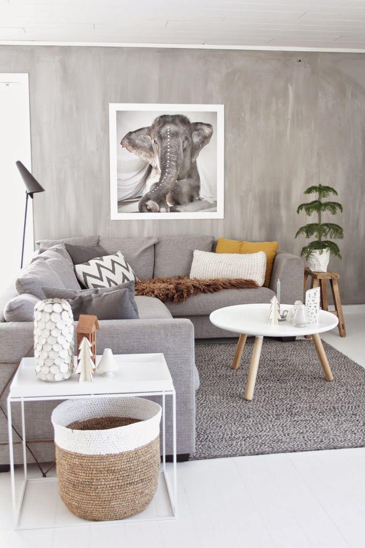 salon, déco, animal, éléphant