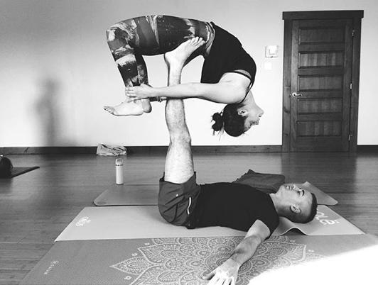 acro, yoga, hiver, froid, fun, blog, enjoy, new