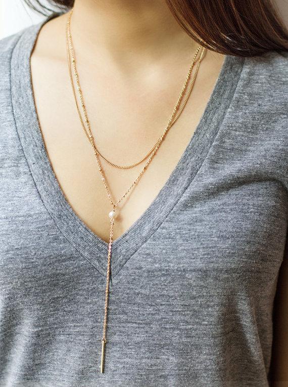 Collier long, etsy, fashion, bijoux