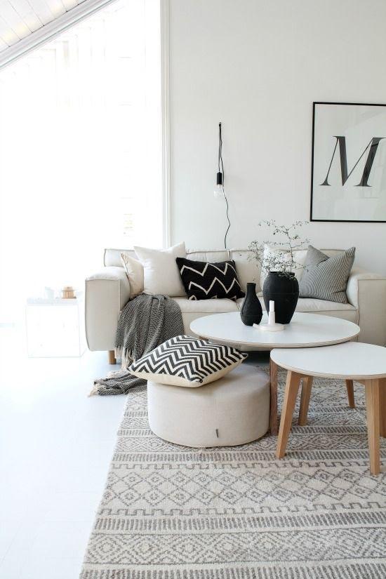 Scandinave, blanc, épuré, européen, monochrome, lumineux, clair, essentiels