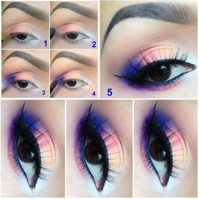 Beautiful Night Eye Makeup Idea