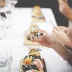 La Bulle à Sushi à la maison de Geneviève Everell