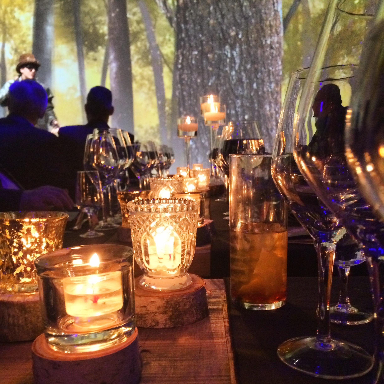 fête, érable, arsenal, repas, souper, vin, gastronomie, décor