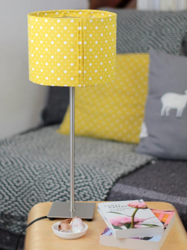 lampe jaune, décoration, maison, déco, petits prix