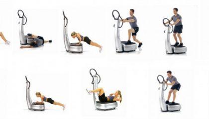 LE RÉSULTAT : L'entraînement physique avec la Power Plate