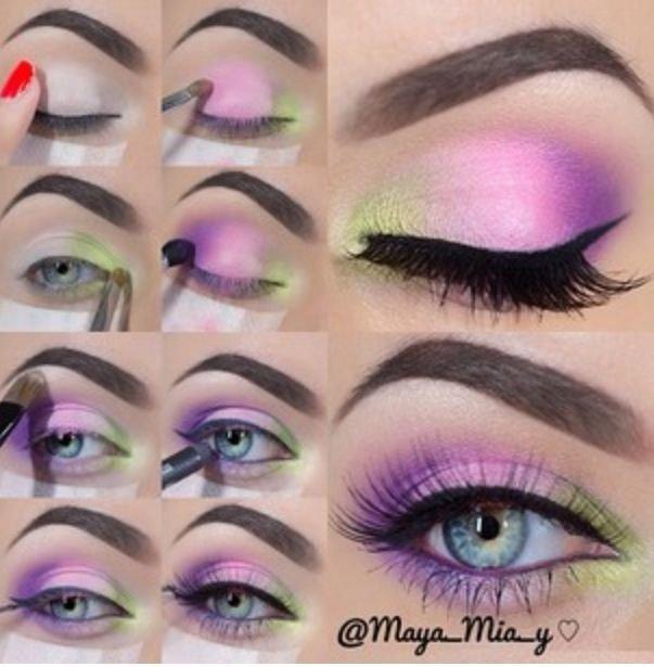 Pretty Pastel Purple Eye Makeup Tutorial