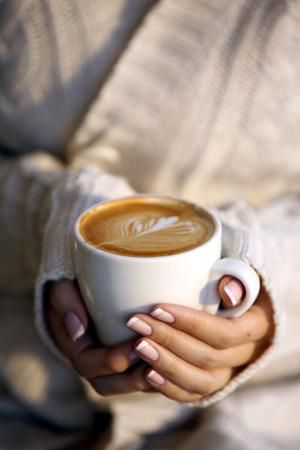 Woman,coffee, hands,talk