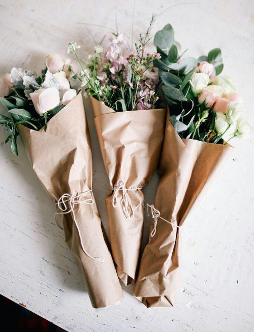 flower, bouquet, cadeau, femme