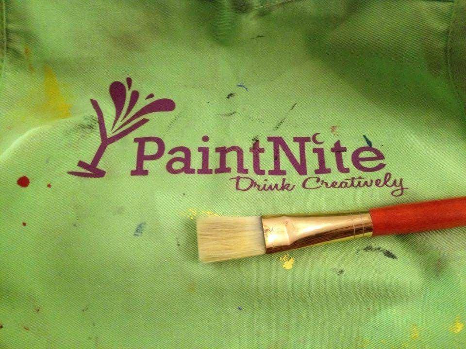 paint nite, peinture , soirée , fille