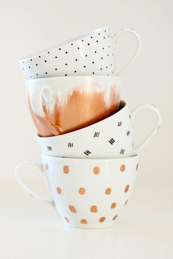 feutre, tasse, DIY, homemade
