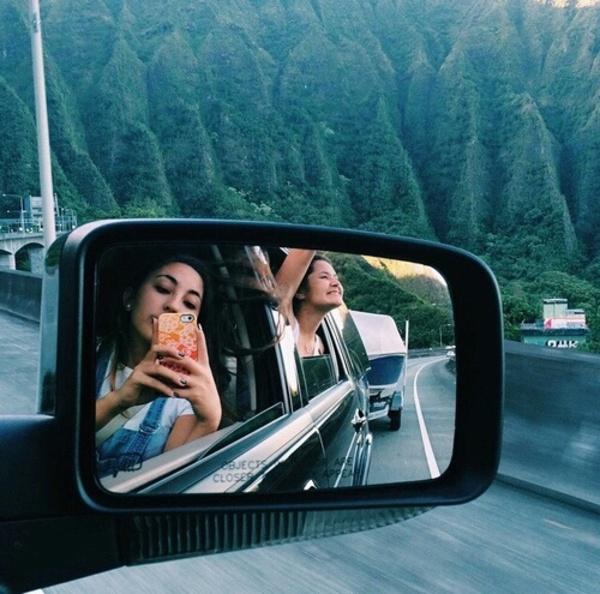 Roadtrip, girl, fashion, voiture, voyage
