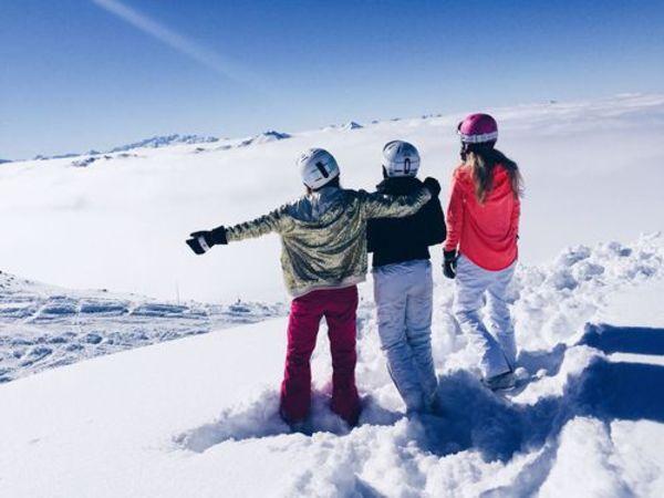 ski, fun, plein air, sport