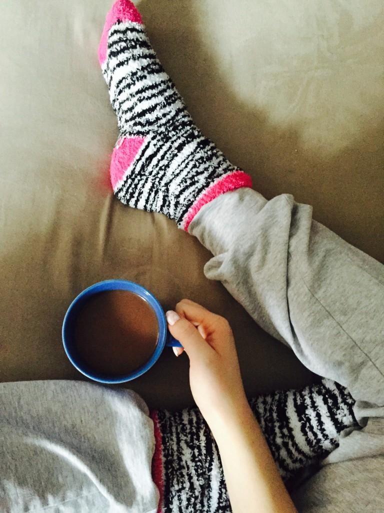 photo, pyjama, cafe
