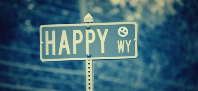 bonheur, heureuse, happy, highway