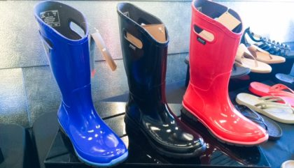 C'est le printemps, on sort nos bottes de pluie!