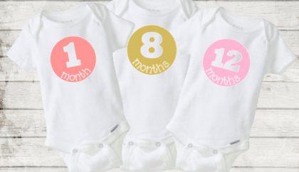 Garder des souvenirs de la première année de bébé.