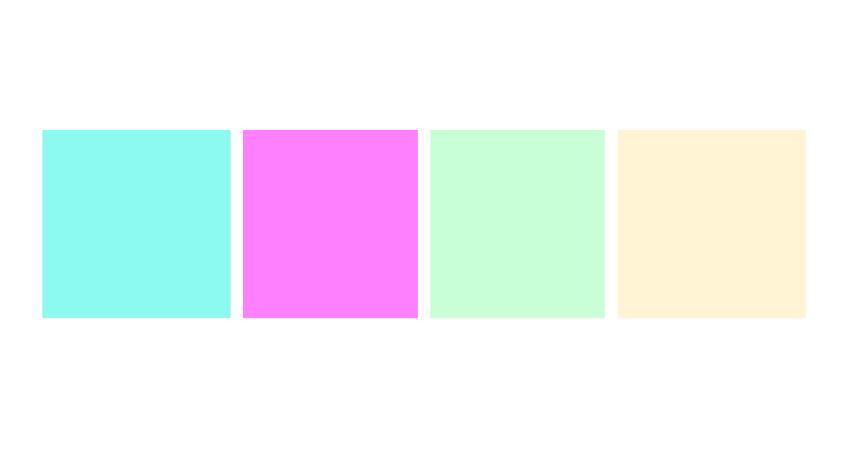 couleurs été