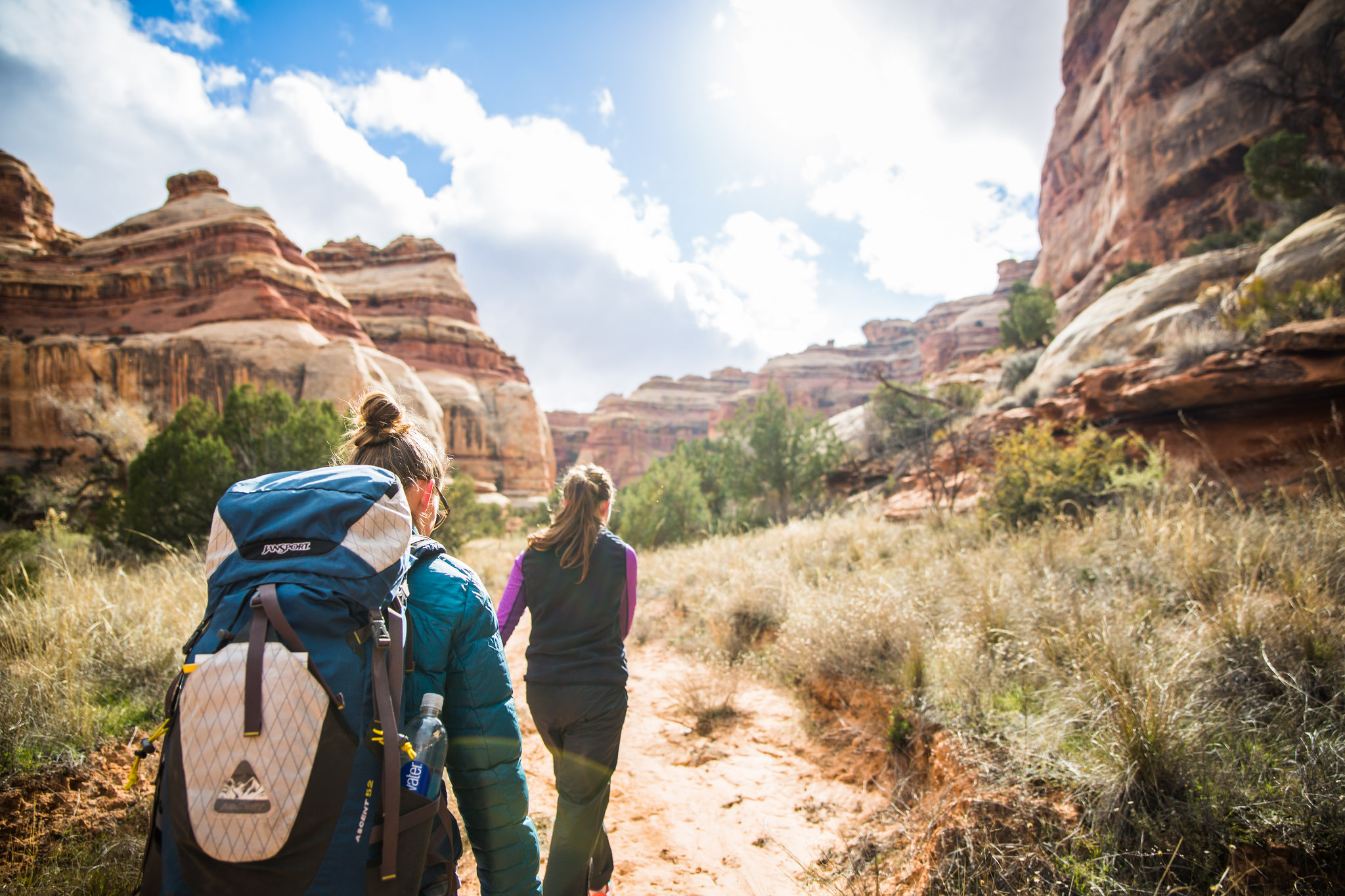 backpacking voyage