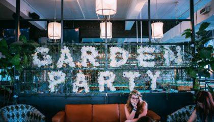 Première édition du Garden Party au Fitzroy