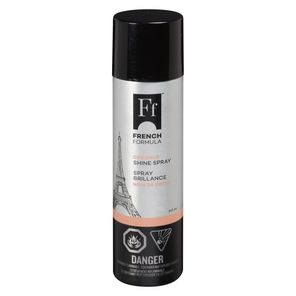 French formula shine spray