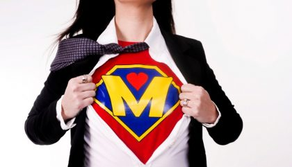 Super maman ou super héroïne!