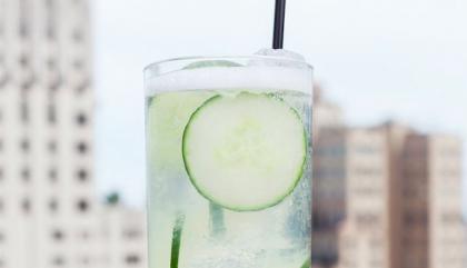 limonade vodka concombre