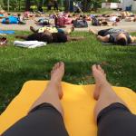 La tournée ROGA : course – yoga – party