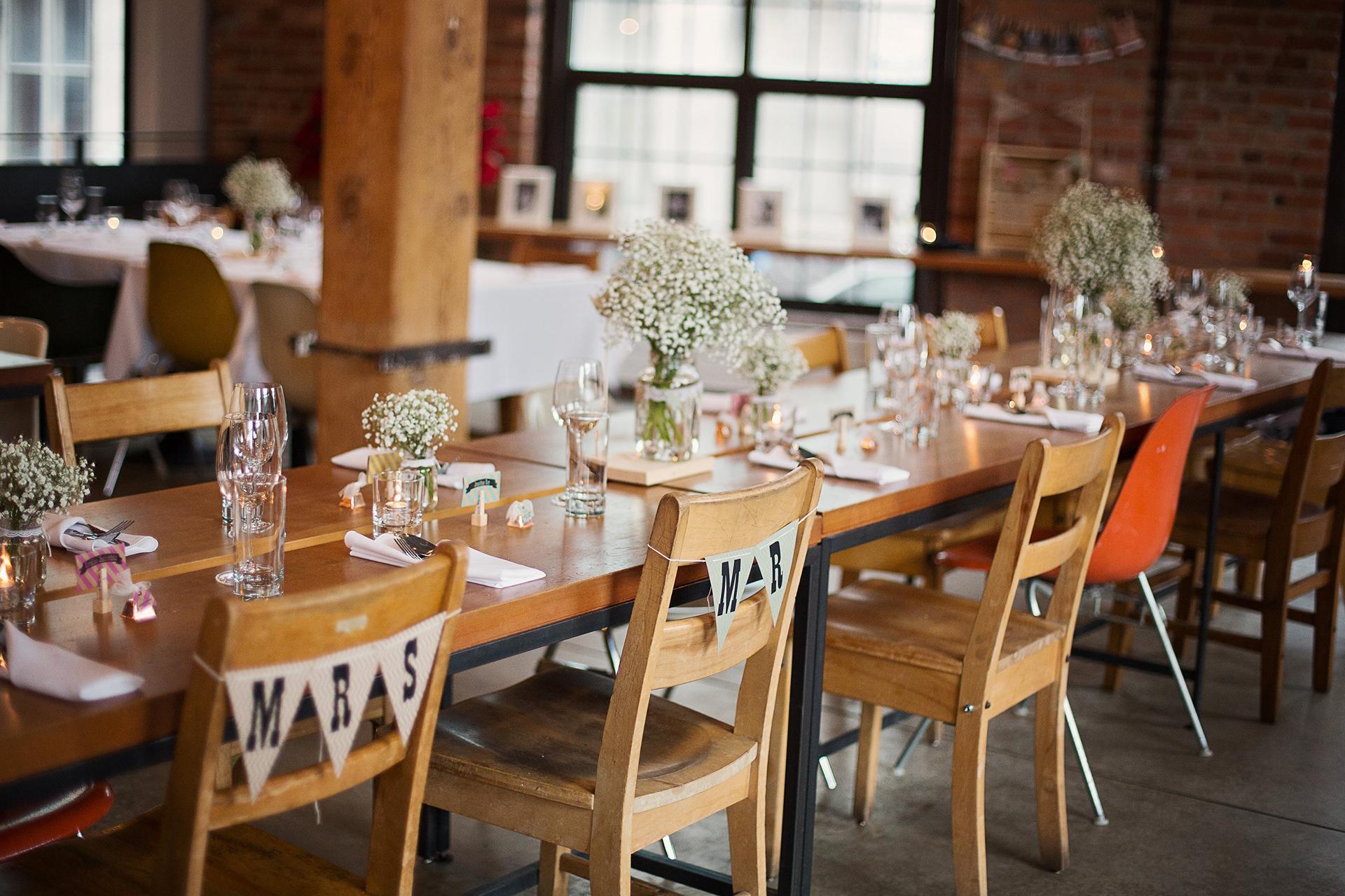 Top 5 des restaurants pour se marier montr al le cahier for Salle a manger montreal restaurant