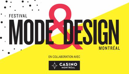 festival mode & design 2016 logo, festival mode & design, montréal